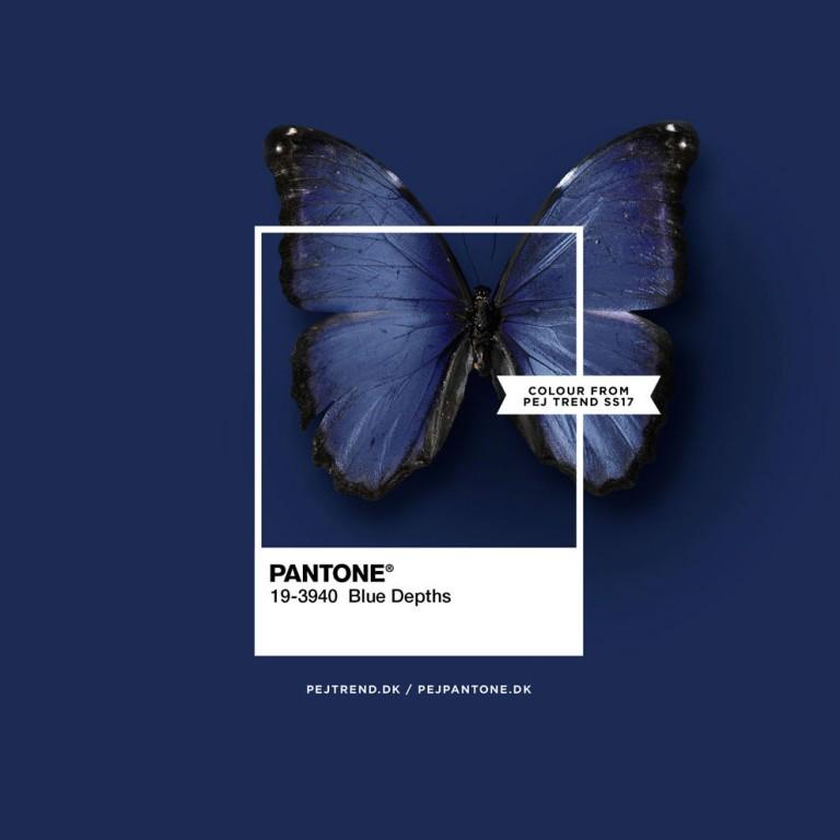 Pantone - blue depths - pejpantone.dk