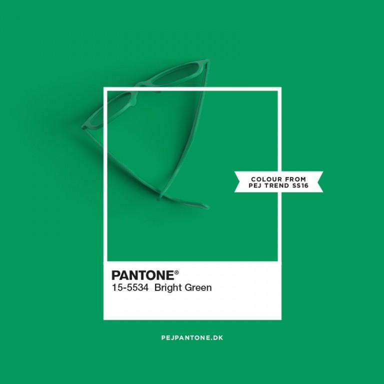 Pantone - bright green - pejpantone.dk