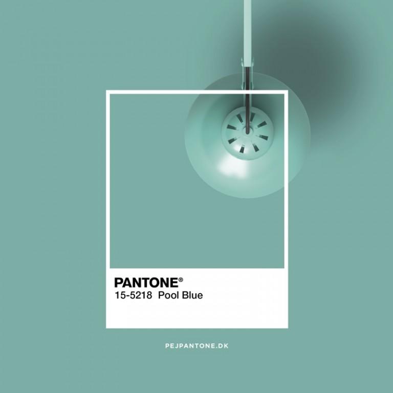 Pantone - pool blue - pejpantone.dk