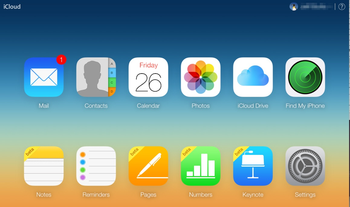 Noter - iCloud synkronisering
