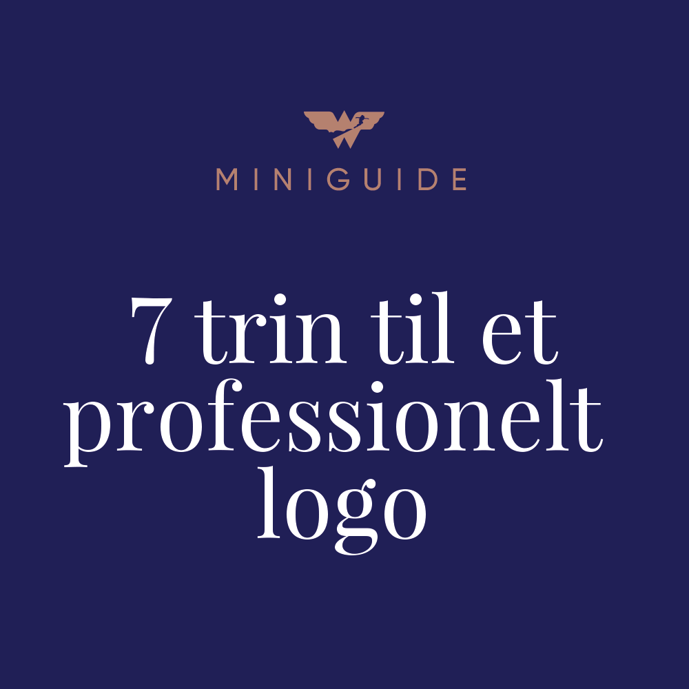 7 trin til et professionelt logo