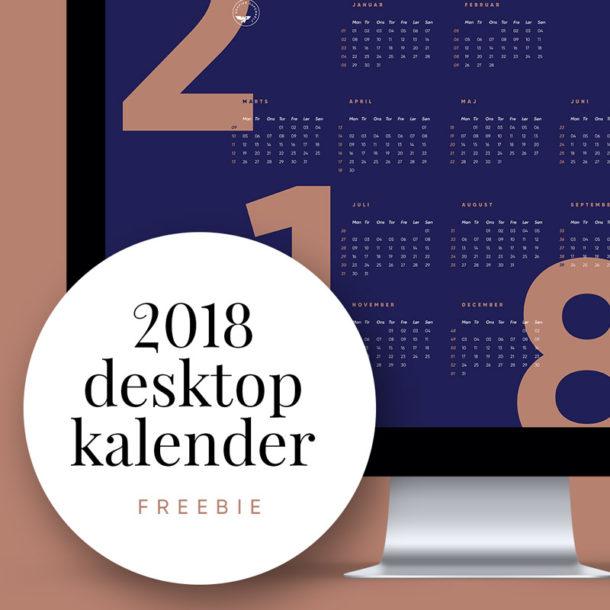 få din 2018 kalender