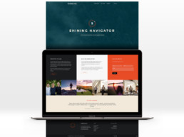 Shining Eyes hjemmeside