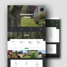 Responsiv hjemmeside for Kildebakken