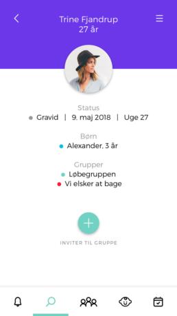 Babyo App - profil