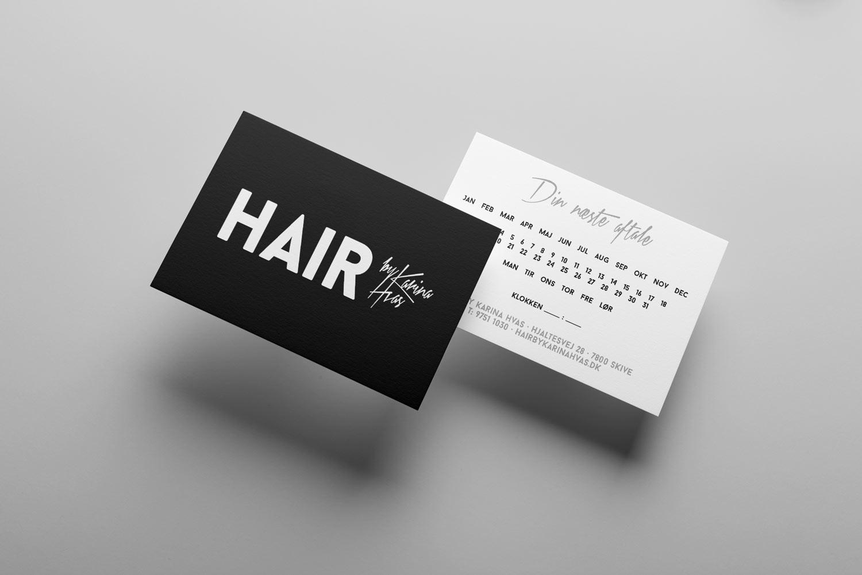 Hair visitkort
