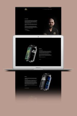 The Man Behind hjemmeside