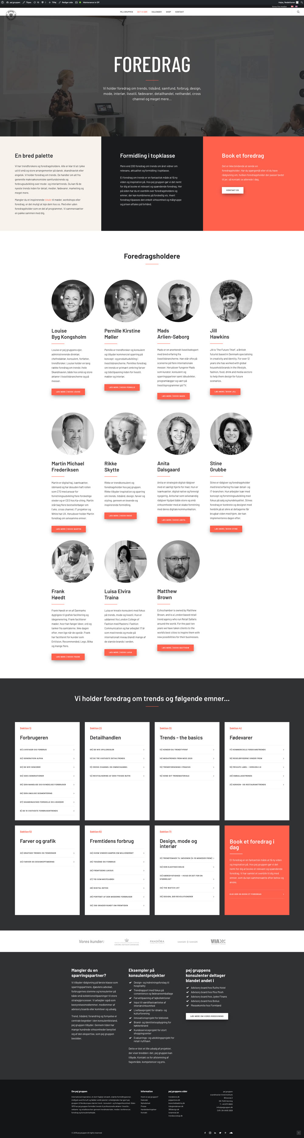 Responsiv hjemmeside