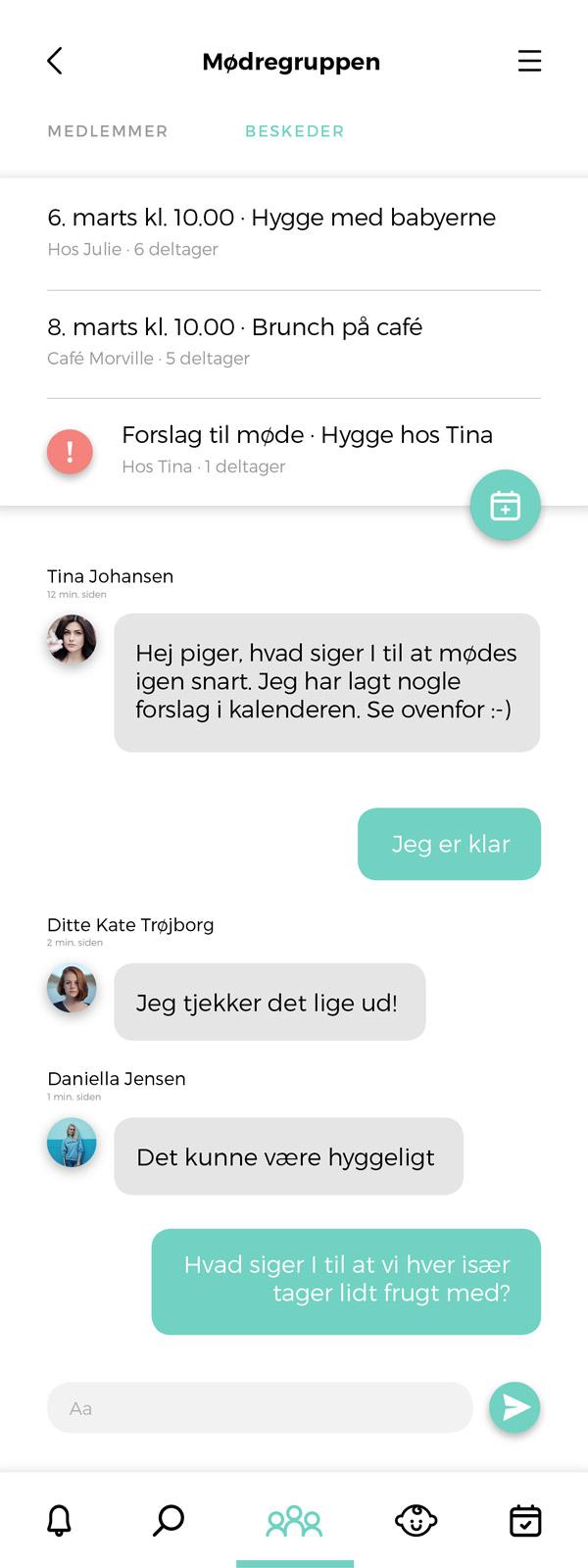 Babyo App - chat