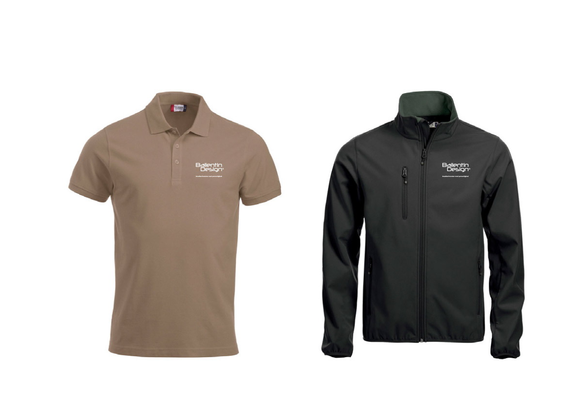 Ballentin Design® polo og jakke